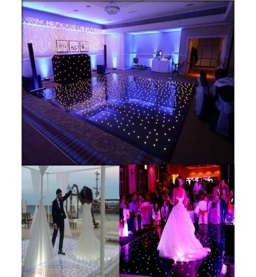 LED starlit dance floor 5x5