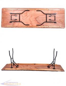 Mesa Retangular Plegable