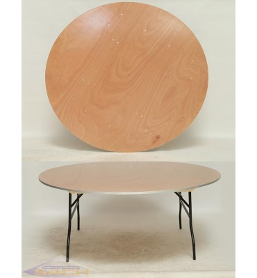 Round Folding Tables -...