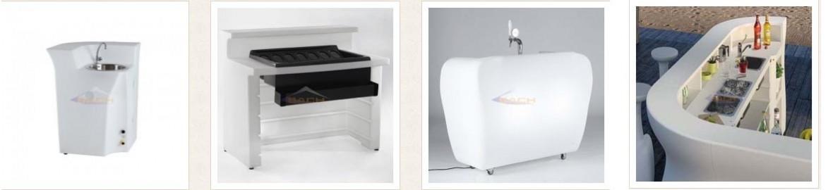 Complementos para mobiliario de bares
