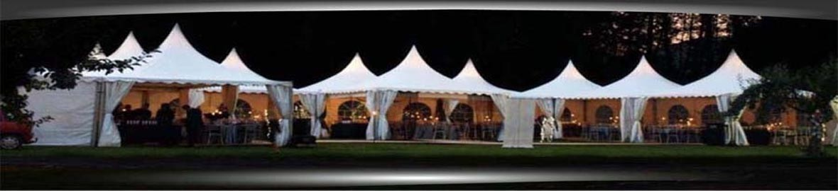 The perfect entry and reception tent