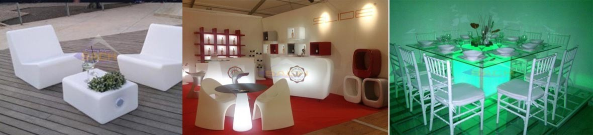 the Furniture with LED LIGHT, the impact and influence on a suitable LEDs decoration,