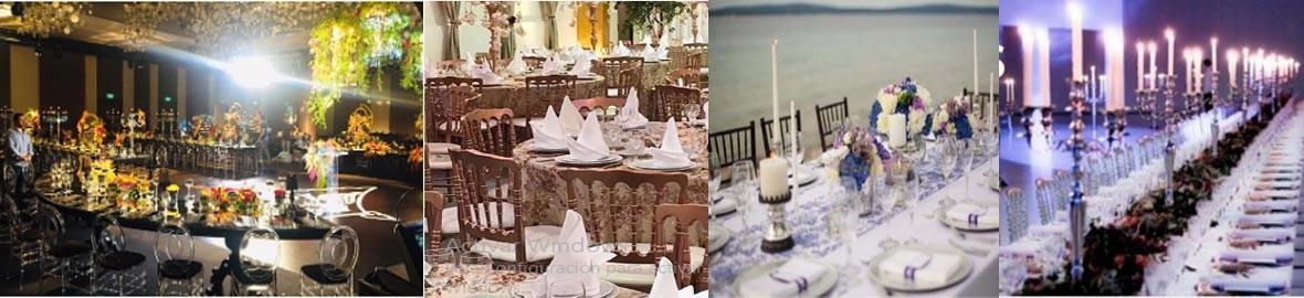 decoração indica a importância de um evento e seu significado