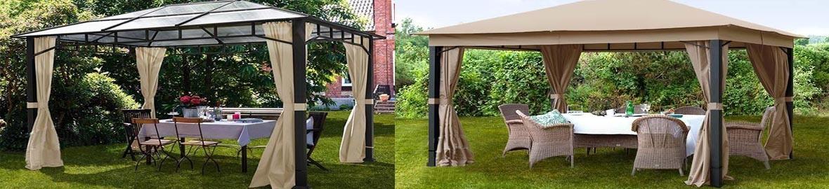 garden bower gazebo Sunset Deluxe deserves a permanent place in the garden