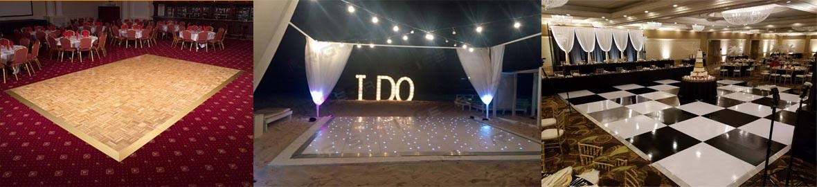 You can not miss a dance floor for your social event, weddings, XV years, graduations.