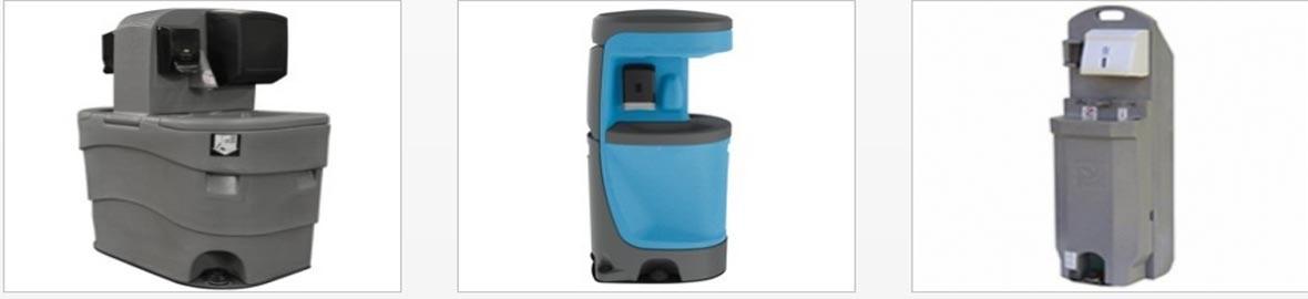 sach4events les proporciona todos los accesorios necesarios para sus sanitários e duchas portatiles.