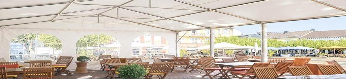 Economic Marquees for parties in your garden, wedding or special event